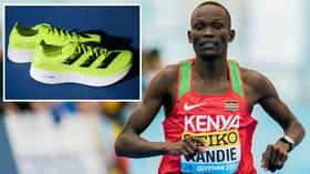 Shoe wars: Kenyan athlete SMASHES half-marathon record as ARMS RACE between sneaker brands takes center stage