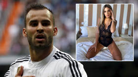 Paris playboy: Shamed football star AXED by French giants PSG after sex scandal with reality TV partner and stunning model (VIDEO)