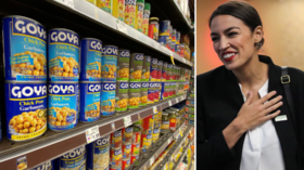 'She's our hero': Goya CEO says they made AOC 'employee of the month' after her boycott call BOOSTED their sales by 1,000%