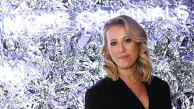 Ex-Russian presidential candidate Sobchak lashes out at 'CIA officers' running US state media RFE/RL after top journalist fired