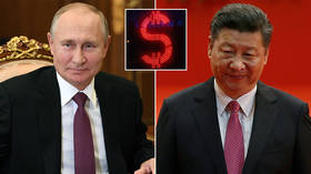 Ukraine SWIFT threat likely a bluff but US weaponization of financial system only encourages Russia & China to dump dollar faster