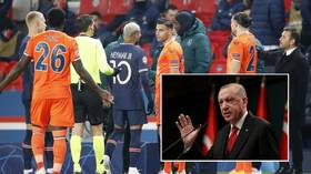 Turkish President Erdogan weighs in on racism storm which marred PSG-Istanbul Basaksehir Champions League tie