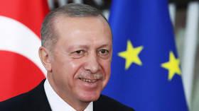 Turkey's Erdogan brushes off threats of EU sanctions, says Brussels 'never honest' with Ankara