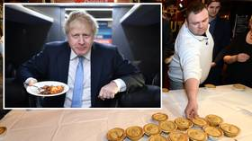 Pie will survive? U.K. Prime Minister Boris Johnson urged to SAVE World Pie Eating Championships by declaring it an ELITE SPORT