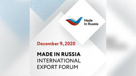 'Made in Russia': International Export Forum discusses support measures and prospects of non-resource-based exports