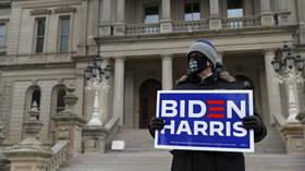 As Electoral College votes Biden in, Michigan plays alternate 'black' national anthem, but keeps out alternate electors