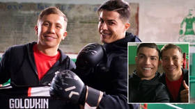 'I cried every day': Ronaldo reveals 'hardest moments' and tells Kazakh Golovkin he prefers watching boxing and UFC to football