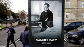 Teenager expelled from French school for saying Samuel Paty 'DESERVED' to be beheaded – media