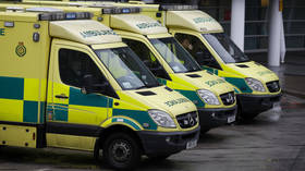 Northern Ireland hospital forced to treat patients in parked ambulances as Covid-19 cases surge