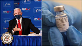 VP Pence says he'll get coronavirus jab 'in the days ahead' while urging 'confidence' in new vaccines despite speedy approval