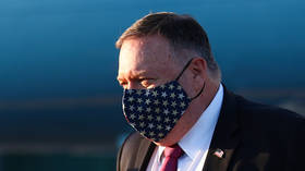 Pompeo quarantining after contact with Covid-infected person