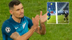 Dejan Lob-ren: Hapless Zenit star savaged by fans after chipping keeper with his chest in spectacular own-goal for Spartak (VIDEO)