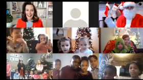 Michigan's Whitmer stages 'creepy' Covid propaganda call with Santa to teach children not to have family gatherings for Christmas