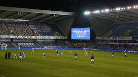 English clubs ESCAPE sanction after fans boo players taking a knee but FA warns of investigation if incidents repeated