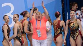 'We can sing it while we're standing on the podium': Russian synchronized swimming coach on Olympic anthem ban