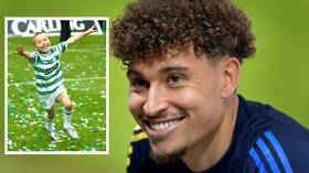'It would be dream to play for Celtic': Spartak's Jordan Larsson on playing for club at which father became icon (VIDEO)