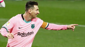 'No one will ever beat this record': Messi strikes to surpass Pele in all-time scoring charts for single club