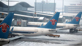 Top Chinese airline halts UK flights over highly contagious Covid-19 mutation
