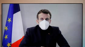 Emmanuel Macron shows 'signs of improvement' from Covid-19 after going into isolation – administration