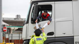 Covid-19 testing starts for thousands of hauliers trapped in UK after France shut border over mutant virus strain