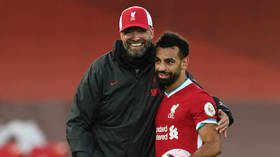 'Mo is in a good mood': Liverpool boss Jurgen Klopp dismisses speculation Salah is unhappy at Anfield (VIDEO)