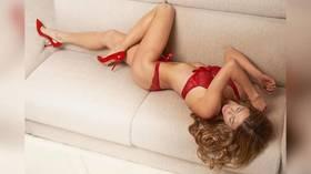 Christmas cracker: Italian tennis ace scores Insta-win with seasonal snap in sexy lingerie (PHOTOS)