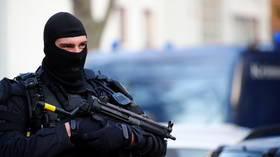 Four people seriously injured in shooting in Berlin as police launch manhunt for perpetrators