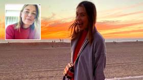 'I still love you': Russian tennis superstar Sharapova smiles on sun-swept California beach in spite of 'very different Christmas'