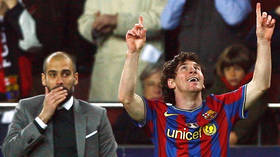 'Guardiola has something special about him': Lionel Messi ignites Man City transfer speculation AGAIN as he heaps praise on Pep