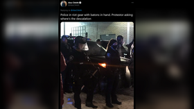 Protesters confront Minneapolis police after city sees first cop-involved killing since George Floyd
