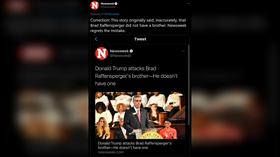 Newsweek 'regrets' reporting error after claiming Trump attacked 'non-existent' brother of Georgia's secretary of state