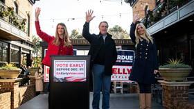 Liberals gloat as Republican Senator Perdue self-quarantines after possible Covid-19 contact on eve of Georgia runoff