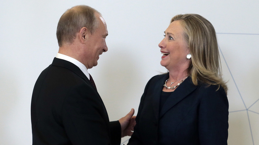 QAnon for Democrats? Hillary Clinton & Nancy Pelosi counsel Putin ORDERED Trump to launch Capitol siege in unhinged interview