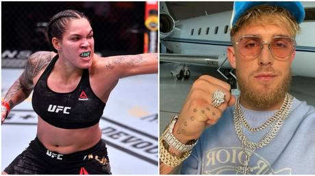 UFC champ Nunes would flatten YouTuber Jake Paul according to Dana White. © Zuffa LCC via USA Today Sports / Instagram @jakepaul