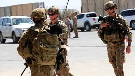 US troops in Iraq. © Reuters / Thaier Al-Sudani