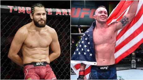 Former friends turned foes Masvidal and Covington could be on a collision course in 2021. © USA Today Sports / Zuffa LLC via Getty