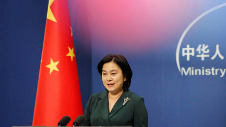 FILE PHOTO: Chinese Foreign Ministry spokeswoman Hua Chunying. © REUTERS / Thomas Suen