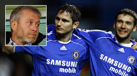 Roman Abramovich (left) could replace Frank Lampard (center) with Andriy Shevchenko at Chelsea © Action Images / John Sibley / Livepic via Reuters | © Action Images / Andrew Couldridge via Reuters