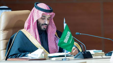 Saudi Arabia's Crown Prince Mohammed bin Salman at Gulf Cooperation Council, Saudi Arabia, January 5, 2021