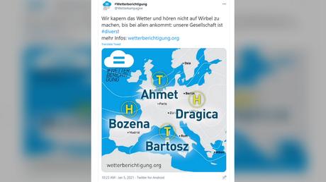 @Wetterkampagne / Twitter