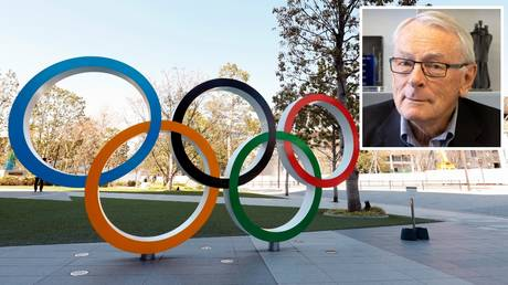 IOC official Dick Pound (inset) wants to ensure the rearranged Tokyo Games to go ahead
