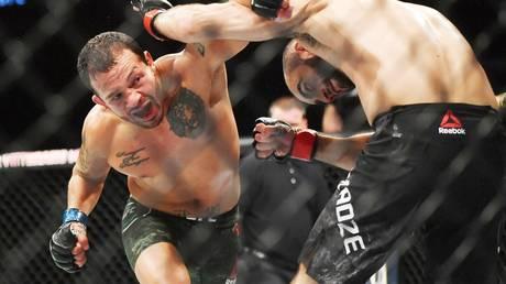 Jailed: UFC bantamweight fighter Irwin Rivera