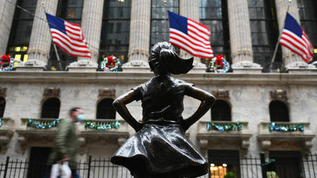 FILE PHOTO:  The New York Stock exchange (NYSE) © AFP / Angela Weiss