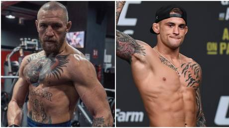 Conor McGregor has predicted a fast finish against Dustin Poirier at UFC 257. © Instagram @thenotoriousmma / USA Today Sports