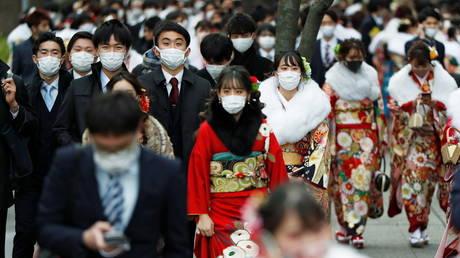 Yokohama, Japan on January 11, 2021 © REUTERS/Issei Kato