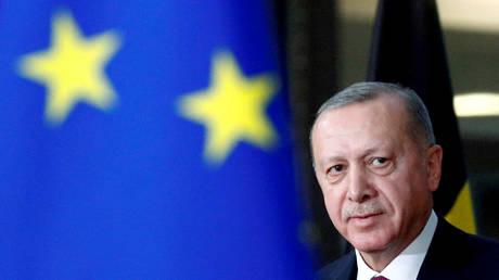 Turkish President Tayyip Erdogan (FILE PHOTO) © REUTERS/Francois Lenoir