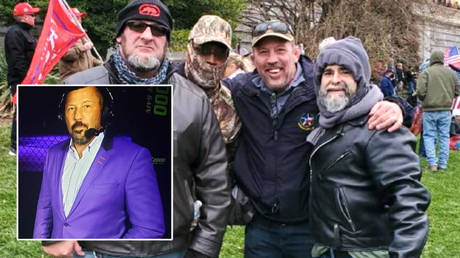 Pat Miletich's UFC commentary future is in the balance after he attended the Capitol protests in support of Donald Trump © Instagram / pjmiletich