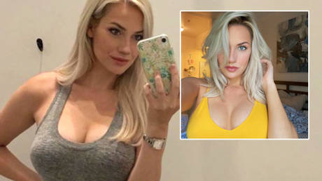 Golf stunner Paige Spiranac has hit out over comments about her boob, butt and other looks © Instagram/_paige.renee