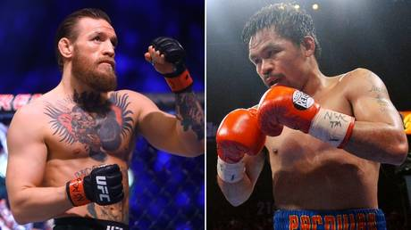Boxing clash: Conor McGregor revealed talks are ongoing over a matchup with Manny Pacquiao