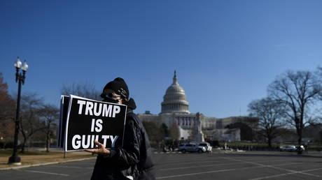 House of Representatives debates impeaching U.S. President Donald Trump